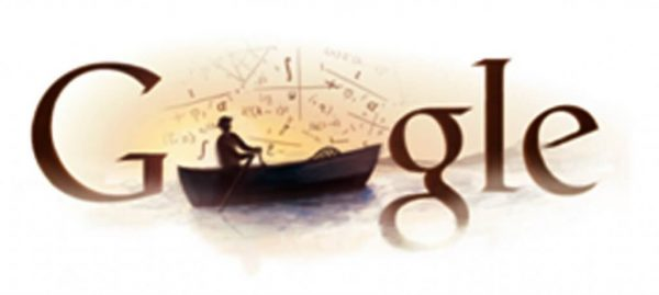 Google doodle dedicated to Mihailo Petrović on the occasion of the 145th anniversary of his birth.