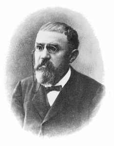 Henri Poincaré around 1910.
